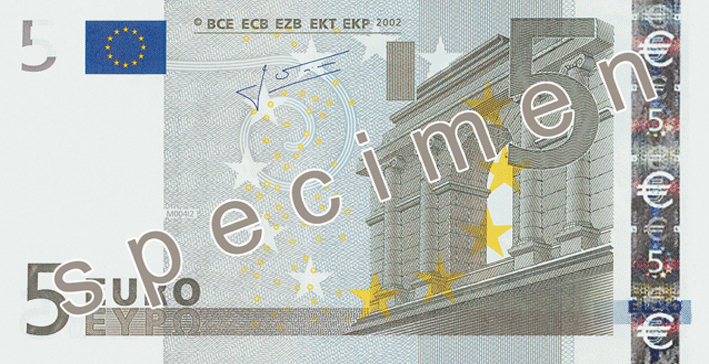 Five Euro Note